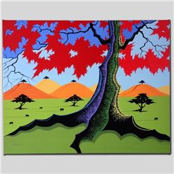 """""""The Hills Have Trees"""" Limited Edition Giclee on Canvas by Larissa Holt, Numbere"""