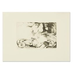 """Charles Bragg (1931-2017), """"And He Saw That it Was Good"""" Limited Edition Etching"""