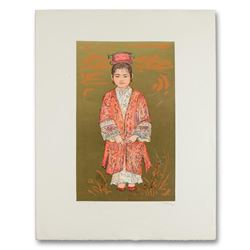 "Edna Hibel (1917-2014), ""Sun Ming Tsai of Beijing"" Limited Edition Lithograph, N"