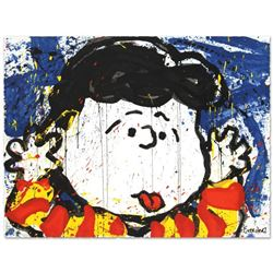 """""""No Apologies"""" Limited Edition Hand Pulled Original Lithograph by Renowned Charl"""