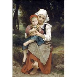 William Bouguereau - Brenton Brother and Sister