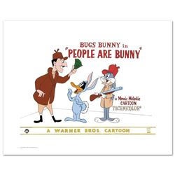 """""""People are Bunny"""" Limited Edition Giclee from Warner Bros., Numbered with Holog"""