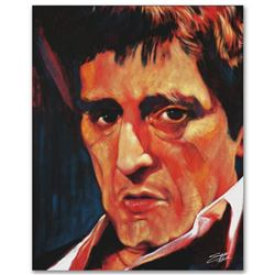 """""""Pacino"""" Limited Edition Giclee on Canvas by Stephen Fishwick, Numbered and Sign"""