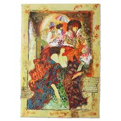 """Sergey Kovrigo, """"Friendship"""" Hand Signed Limited Edition Serigraph with Letter o"""