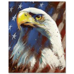 """""""Formatted America"""" Limited Edition Giclee on Canvas by Stephen Fishwick, Number"""