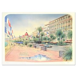 """Rolf Rafflewski, """"Nice"""" Limited Edition Lithograph, Numbered and Hand Signed."""