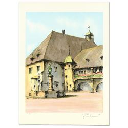 """Laurant, """"Colinar"""" Limited Edition Lithograph, Numbered and Hand Signed."""