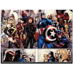 "Marvel Comics ""Fear Itself #7"" Numbered Limited Edition Giclee on Canvas by Stua"