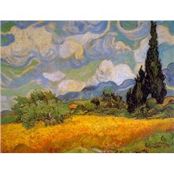 Van Gogh - Cypresses