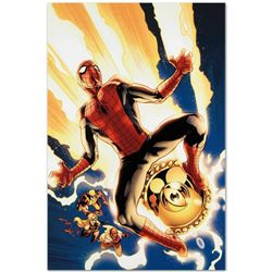 """Marvel Comics """"New Avengers #4"""" Numbered Limited Edition Giclee on Canvas by Stu"""