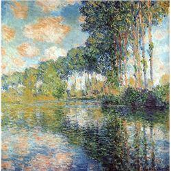 Claude Monet - Poplars on the Epte