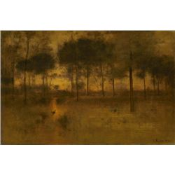 George Inness - The Home of the Heron