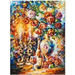 "Leonid Afremov (1955-2019) ""Shabbat"" Limited Edition Giclee on Canvas, Numbered"