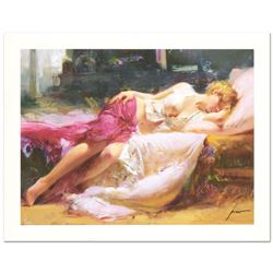 """Pino (1931-2010), """"Dreaming In Color"""" Limited Edition on Canvas, Numbered and Ha"""