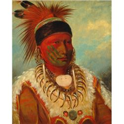 George Catlin - White Cloud, Chief of the Iowas