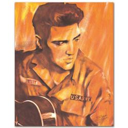 """""""US ARMY"""" Limited Edition Giclee on Canvas by Stephen Fishwick, Numbered and Sig"""