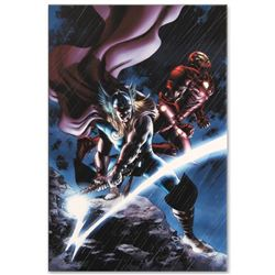 """Marvel Comics """"Thor #80"""" Numbered Limited Edition Giclee on Canvas by Steve Epti"""