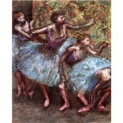 Edgar Degas - Four Dancers Behind The Scenes #1