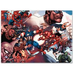 "Marvel Comics ""What If? Civil War #1"" Numbered Limited Edition Giclee on Canvas"