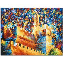 "Leonid Afremov (1955-2019) ""David's Citadel"" Limited Edition Giclee on Canvas, N"