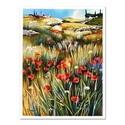 """Yuri Dupond, """"Country Tranquility"""" Limited Edition Serigraph, Numbered and Hand"""