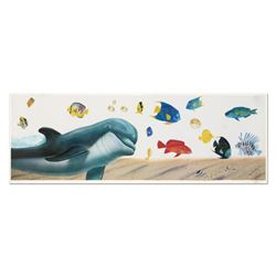 """Wyland, """"Underwater Paradise"""" Limited Edition Lithograph, Numbered and Hand Sign"""