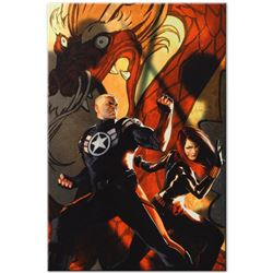 """Marvel Comics """"Secret Avengers #6"""" Numbered Limited Edition Giclee on Canvas by"""