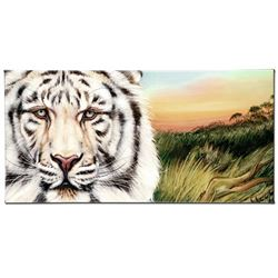 """""""White Bengal"""" Limited Edition Giclee on Canvas by Martin Katon, Numbered and Ha"""