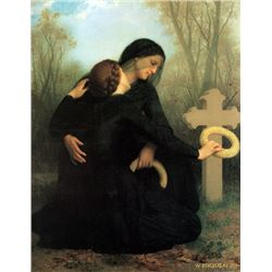 William Bouguereau - The Day of the Dead