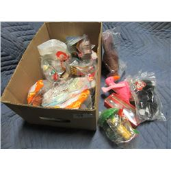 COLLECTIBLE:  BOX OF APPROXIMATELY 20 ASSORTED MCDONALDS TOYS