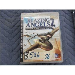 PSIII BLAZING ANGELS II GAME