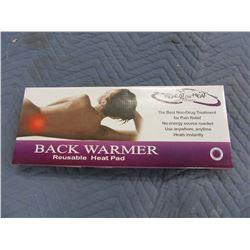 NEW:  BACK WARMER