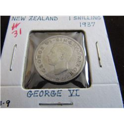 1937 KING GEORGE VI SILVER SCHILLING