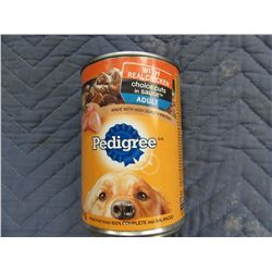 PEDIGREE CHICKEN CHUNK DOG FOOD (630 G) - PER CAN