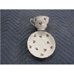 COLLECTIBLE:  SOLOCOUGH ENGLISH CUP & SAUCER