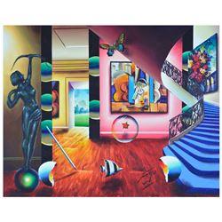 "Ferjo ""Abstract Beauty"" Original Oil On Canvas"