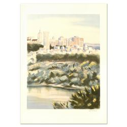 """Victor Zarou """"Chateu Rio Renne"""" Limited Edition Lithograph"""