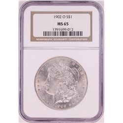 1902-O $1 Morgan Silver Dollar Coin NGC MS65