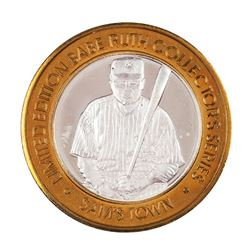 .999 Fine Silver Sam's Town Casino Robinsonville, MS $10 Limited Edition Gaming Token