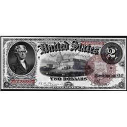 1880 $2 Legal Tender Note