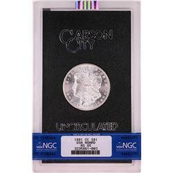 1881-CC $1 Morgan Silver Dollar Coin GSA Hoard Uncirculated NGC MS65