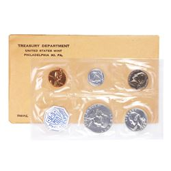 1960 (5) Coin Proof Set in Original Envelope