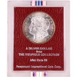 Redfield Collection 1897-S $1 Morgan Silver Dollar Coin NGC MS63