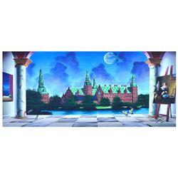 "Ferjo ""Castillo De Frede"" Original Oil On Canvas"