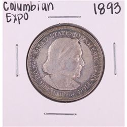 1893 Columbian Expo Commemorative Half Dollar Coin