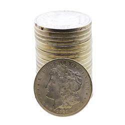 Roll of (20) Brilliant Uncirculated 1921 $1 Morgan Silver Dollar Coins
