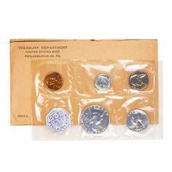 1961 (5) Coin Proof Set in Original Envelope