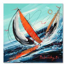 "Natalia Sinkovsky ""Salt Water"" Original Acrylic On Canvas"
