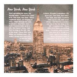 """Ringo"" Daniel Funes ""New York, New York"" Original Mixed Media On Canvas"