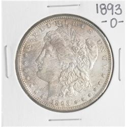 1893-O $1 Morgan Silver Dollar Coin